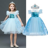 Girl's Dresses Girls Princess Dress Kids Halloween Cosplay Party Costume 4 5 6 7 8 9 10 Years Children Sequin Clothing Disguise