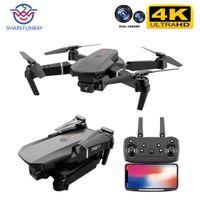 Симуляторы E88 PRO Drone 4K HD Dual Camera Visual Positioning 1080P WiFi FPV Консервация высоты RC Quadcopter