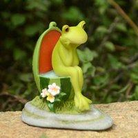 Carino Animale Animale Anguria Figurine Micro Fairy Garden Kawaii Miniature Miniature Terrario Dollhouse Decor Bonsai Decorazione ornamenti 210804
