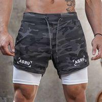 Calções ASRV Homens Boxer Calças Curtas Fitness Bodybuilding Bodybuilding Mens Durável Sweatpants Workout Boxers Pular shorts