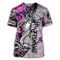 Schöne Fischerei Camo 3D überall bedruckt Männer T-shirt Harajuku Mode Kurzarm Hemd Sommer Streetwear Unisex T-shirt dy112 210319