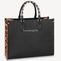OnThego Mm GM Bag Luxurys Designers sacos bolsas de alta qualidade senhoras cadeia de ombro Patente de couro diamante de couro M45321