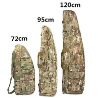 Military Airsoft Sniper Gun Carry Rifle Case Tactical Gun Bag Army Backpack Target Support Sandbag Shooting Hunting Accessories 201022