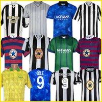 94 95 96 97 98 99 05 06 Newcastl e Shearer Retro Soccer Jerseys Hamann Sheareer Pinas 1984 95 1997 05 06 T-shirts de football classique United Owen Ginola