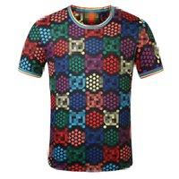 T-shirt des hommes et des femmes de mode Coton Coton occasionnel Mode T-shirt Medusa à manches courtes HIP-HOP T-shirt à manches courtes à manches courtes