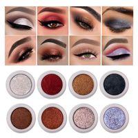 Colors Metallic Eyeshadow Pearl Chameleon Eye Makeup Shimmer Pigment Long Lasting Smudge-proof Fashion Cosmetic Tools Shadow