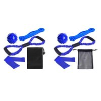 Resistance Bands 5PCS Band Set Pull Up Assist Point Massage Ball Stretch Exercise For Training Workouts