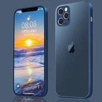 iPhone12 12promax 12 mini 13 13pro 13promax 13 mini matte electroplating phone case Full Covered Protective Case iPhone 11 11pro XS XR case cover (iphone 12 pro)