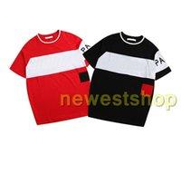 2020 Più Nuovo Estate Europa Luxury Europe Mens Ricamato Lettera Stampa T-Shirt Alta Qualità Uomini Donne Donne Designer T Shirt Casual Cotton Tee