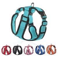 Collari per cani Dogs Harness Vest No Tiro Easy Control Cucciolo riflettente Cablaggi per piccoli accessori per animali domestici regolabili in rete traspirante morbida media