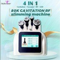 User manual approved 80k cavitation body slimming machine vacuum RF weight loss equipment