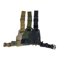 Drophpping SAFARILAND الساق حزام الحافظة منصة M9 G17 1911 USP P226 PX4 Safari