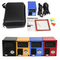 Mini Dnail Temperature Control Kit Box Vapes E Cig Accessories Dab Enail for Wax Concentrate Smoking Device Hookah Electric Nail