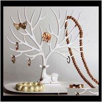 Mein kleiner Hirschablett Zubehör Halter Halskette Ohrring Ring Uhren Organizer Schmuck Display Stand Wedding Decorations AirTJ Bgrpt