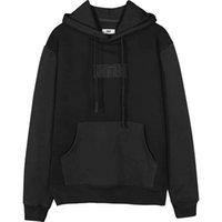 Nakış logosu kith hoodie erkekler kadınlar 20ss sonbahar kış klasik katı renk kith hoodie kazak en iyi kalite