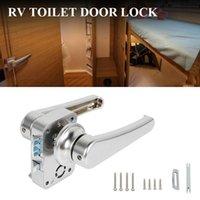 Tuvalet Kapı Kilidi Banyo Karavan Tekne Mandal Kolu RV Aksesuarları ATV Parçaları