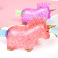 Giocattoli decompressioni Sollezione di sollecitazione Unico di alta qualità Soft Unicorn Pinch Squeeze Toy Novelty per bambini DDA6370