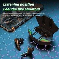 Headphones Earphones headset small-scale Cool black Sportswear portable Earphone Bluetooth wireless headsets