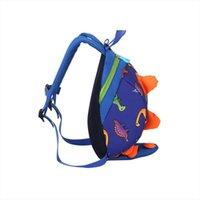 Sac à dos de dinosaure mignon Harnais de sécurité anti-enfant anti-divertissements de maternelle, sac à dos pour bébé perdu 3 6 ans Sacs d'enfants de voyage
