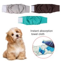 Dog Apparel Underwear Breathable Reusable Washable Training Male Dogs Physiological Pants Pet Diaper Briefs Leak Proof Belt Urine Pad