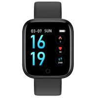 multi-function watch Intelligent color screen men's and women's fashion thermometer heart rate meter step waterproof Bluetooth sports smart Bracelet All Compatible