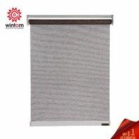 Persienner anpassad automatisk motoriserad grå rullgardin blackout kontor kök säng rum halv eller full skugga hög kvalitet fönster gardin
