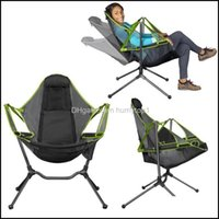 Outdoor Hiking Sports & Outdoorsoutdoor Pads Ultralight Folding Camping Chair Luxury Convenient And Comfortable For Fishing Chairs Drop Deli