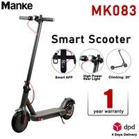 Hot MK-083 Электрический скутер 8.5 дюймов Шина 7,8ах аккумулятор 350 Вт 36 В Bluetooth приложение Smart Scooter Складной Складной скейтборд E-Bike Europe Специальное предложение