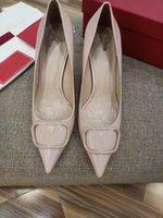 Boutique Fashion Women Heel High Heel Zapatos Formales Sandalias de Cuero Patente Top Calidad Tamaño italiano 35-41