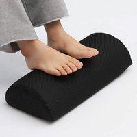Teppiche ergonomische Füße Kissen Nützliche Unterstützung Fußstütze Hocker Unter Schreibtisch Massage Kissenschaum Foam Fußstütze Atmungsaktiv und bequem