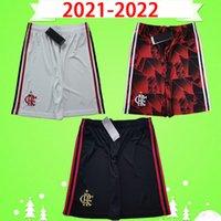 2021 2022 flamengo soccer shorts PATAMÁ GUERRERO DIEGO VINICIUS JR GABRIEL 21 22 flamenco home away third white red black Football pants TOP Thailand