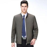 Männerjacken 2021 Herbst Casual Solid Fashion Slim Bomber Golf Overcoat Baseball Hohe Qualität M-3XL Jacke Männer