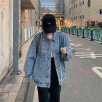 Women's Jackets Slpbly female jean jacket, large jacket sping for women casual autumn clothes KHW8