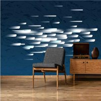Wallpapers Milofi Manufacturers Custom Modern Nordic Abstract Geometric Lines Background Wallpaper Murals