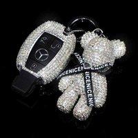 Suitable for Mercedes Benz Key Case C-class water drill c200l gla200 glc260 cla200 female car key case