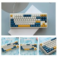 Keyboard Covers 1 Set Merlin Keycaps Abs Double S Keycap Cherrys Caps Keys Profile With 7u Iso Enter Spacebar T0s8