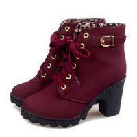 Autumn Winter Woman Boots Women Shoes Ladies Thick Fur Ankle Boots Women High Heel Platform Rubber Shoes Snow Boots 211021