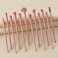 Makeup Pinsel 12 stücke Werkzeug Set Lidschattenbürste Lip Foundation Blush Mischung Pulverkosmetik für Frauen