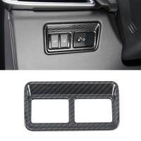 Auto Carre avant Lampe de lumière Phare de phare Cadre Cadre Sticker Couvercle Décoration Accessoires d'intérieur pour Jaguar XE X760 2015-2019