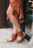 Sandals English 2021 Design Tan Color For Women Rope Casual Shoes Ladies Cute Summer Beach Wide Width