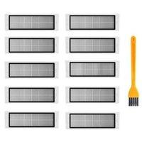 Roborock S6 S5 için Filtre Hepa Max S60 S50 S55 E25 E35 Elektrikli Süpürge Yedek Parça Aksesuarları Temizleyiciler