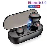 Y30 TWS wireless BluTooth 5.0 Auricolare rumore cancellazione del rumore Auricolare HiFi 3D Stereo Sound Sound Music In-Ear Earbuds per Android iOS con scatola al minuto