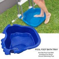 Pool & Accessories Wash Basin Portable Swimming Plastic Footbath For Spa Textured Foot Bath
