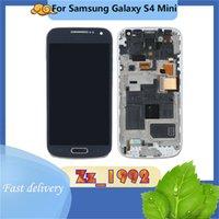 "Cep Telefonu Dokunmatik Paneller 4.3 ""Orijinal Samsung Galaxy S4 Mini I9190 LCD Ekran Digitizer Meclisi Değiştirme"