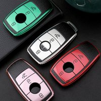 TPU Remote Smart Key Case Cover Suitable For Mercedes-Benz E Class C Class S Class GLE 2020 Car Key Cover Protection