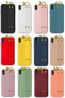 Wristand Phone Cases Anti-fall Flexible Wrist Strap Back Cover Kickstand Protector for iPhone 12 pro max 11 11pro X Xs XR 7 7p 8 8plus
