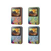Macaron Renkli G5 Mini Retro Video Oyun Konsolu El Taşınabilir 3.0 Inç Klasik Cep Dahili 500 Oyunlar Oyuncular Single Gaming