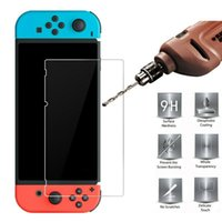 9H HD Clear Anti-Scratch Ultra Thin Premium Tempered Glass Screen Protector Film For Nintendo Switch Lite With OPP Bag