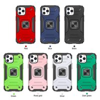 Finger Ring Stand Phone Cases For iPhone 12 11 Pro Max XS XR 7 8Plus Shockproof Hybrid Armor case Cover