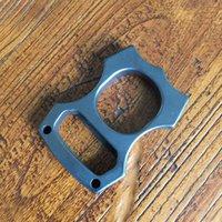 EDC Gear Brass Knuckles Keychain Pendants Bottle Opener Outdoor Multifunction Rings self-defense Broken window Tools Factory Direct Sales ZH